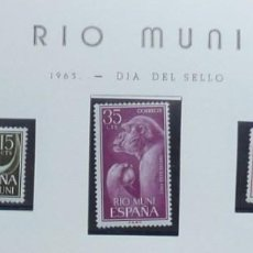 Sellos: RIO MUNI- 2 SERIES. Lote 108869355