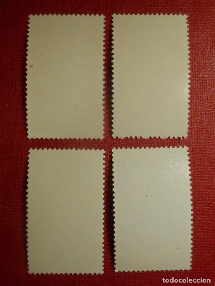 Sellos: SELLO - CORREOS - ESPAÑA - RIO MUNI - EDIFIL 10, 11, 12 y 13 - PRO INFANCIA - 1960 - Serie - Foto 2 - 109414967