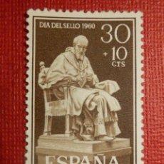Sellos: SELLO - CORREOS - ESPAÑA - RIO MUNI - EDIFIL 16 - DÍA DEL SELLO - 1960 -. Lote 109415155