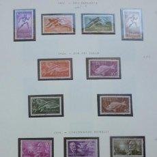 Sellos: SAHARA- 1954-56 5 SERIES-18 SELLOS. Lote 109541719