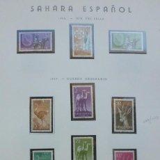 Sellos: SAHARA- 1956-7-63 5 SERIES 17 SELLOS. Lote 109542367