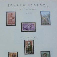 Sellos: SAHARA - 1958-60 - 4 SERIES-14 SELLOS. Lote 109542943
