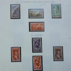 Sellos: SAHARA- 1961/62- 5 SERIES- 16 SELLOS. Lote 109545611