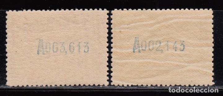 Sellos: SAHARA , 1929 EDIFIL Nº 34 , 35 / ** / , EXPOSICIÓN DE SEVILLA - Foto 2 - 111644835