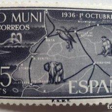 Sellos: SELLO 25 CTS - RIO MUNI, 1936 - 1961. Lote 111821075