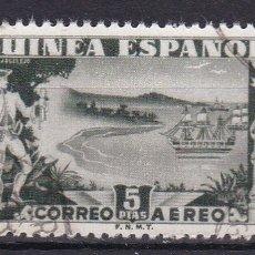 Sellos: GUINEA 1949. CONDE DE ARGELEJO SELLO USADO EDIFIL Nº 276. Lote 113110179