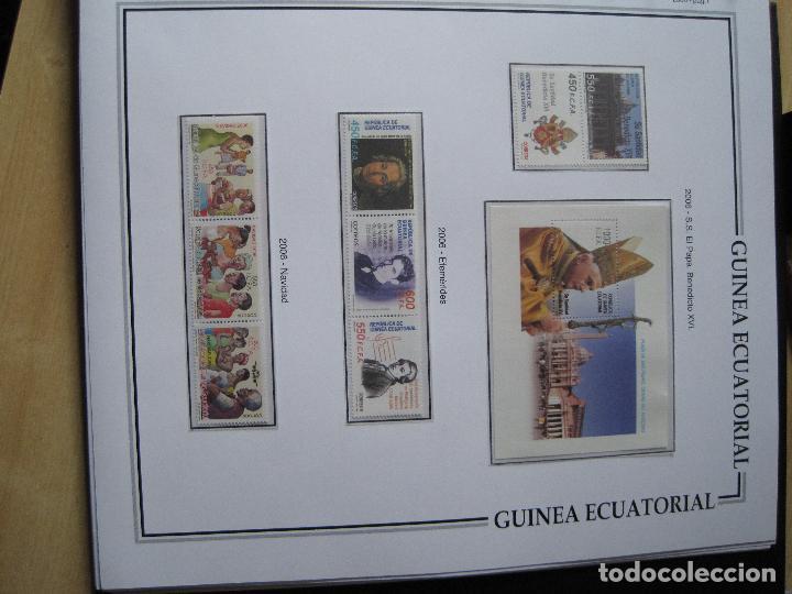 Sellos: GUINEA ECUATORIAL NUEVOS EN HOJAS TODOS LOS SELLOS CON FILOESTUCHE DE 1968 INICIO DE COL. A 2011 - Foto 8 - 113497079