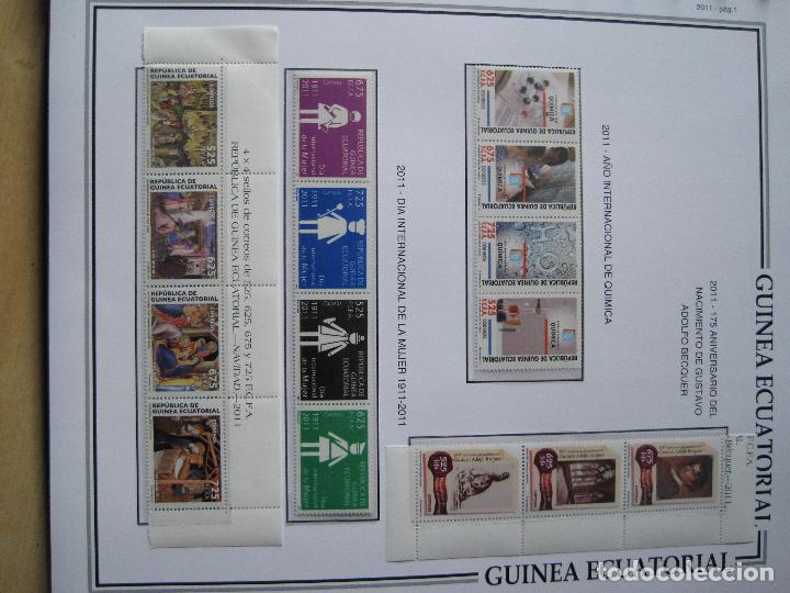 Sellos: GUINEA ECUATORIAL NUEVOS EN HOJAS TODOS LOS SELLOS CON FILOESTUCHE DE 1968 INICIO DE COL. A 2011 - Foto 9 - 113497079