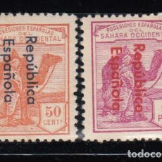 Sellos: SAHARA , 1932 EDIFIL Nº 43A , 45AHCC , / * / . Lote 116125271