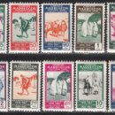 Sellos: MARRUECOS , 1953 EDIFIL Nº 384 / 393 / * / . Lote 116381199