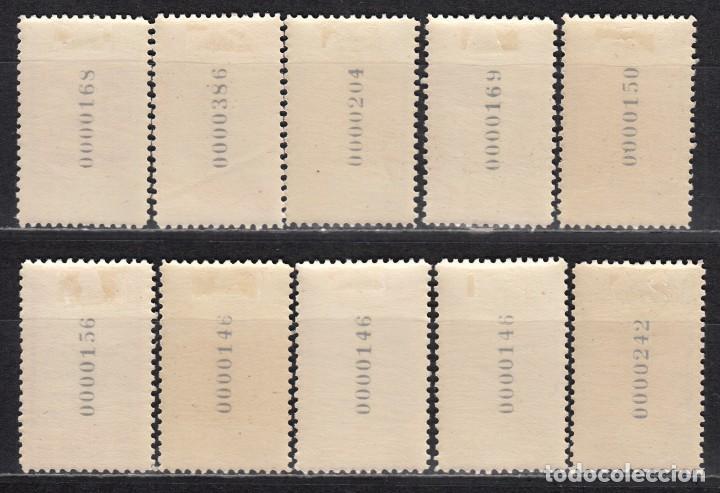 Sellos: MARRUECOS , 1953 EDIFIL Nº 384 / 393 / * / - Foto 2 - 116381199