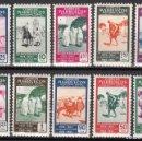 Sellos: MARRUECOS , 1953 EDIFIL Nº 384 / 393 / * / . Lote 116381531