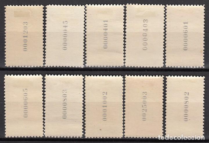 Sellos: MARRUECOS , 1953 EDIFIL Nº 384 / 393 / * / - Foto 2 - 116381531