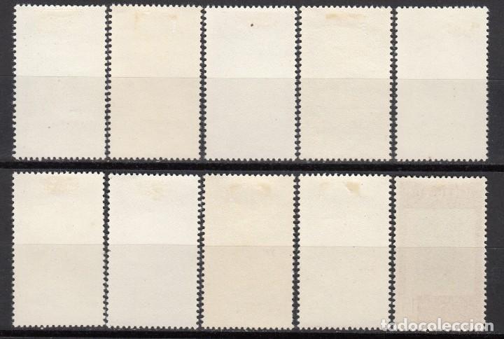 Sellos: MARRUECOS , 1955 EDIFIL Nº 406 / 415 / * / - Foto 2 - 116384135