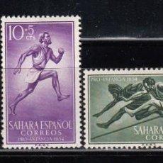 Sellos: SAHARA , 1954 EDIFIL Nº 112 / 115 / * / . Lote 116719731