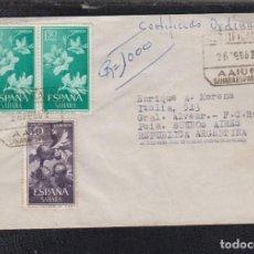Sellos: 1962.- AAIUN (SAHARA) A BUENOS AIRES (ARGENTINA). Lote 116939363