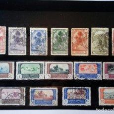 Sellos: LOTE SELLOS USADOS Y NUEVOS MARRUECOS 1928 MONUMENTOS 1944 AGRICULTURA. Lote 117311371