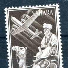 Sellos: EDIFIL 189 DE SAHARA. 25 PTS INDÍGENAS. NUEVO SIN FIJASELLOS. Lote 118731422