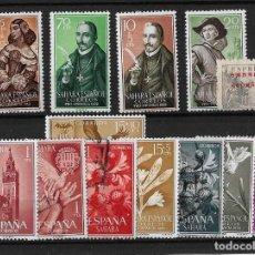 Sellos: COLONIAS ESPAÑOLAS SAHARA ESPAÑOL PEQUEÑO LOTE DE NUEVOS Y USADOS. Lote 119175323