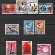 Sellos: SOMALIA LOTE SELLOS ** MNH - 2/26. Lote 119277375
