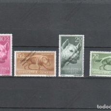 Sellos: SAHARA ESPAÑOL Nº 129 AL 132 (**). Lote 195396976