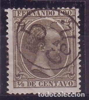 FERNANDO POO 40 *MH VC 45 EUROS (Sellos - España - Colonias Españolas y Dependencias - África - Fernando Poo)