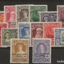 Sellos: R41/ MARRUECOS ESPAÑOL, 91/104 , MH*, MAGNIFICO. Lote 120880499
