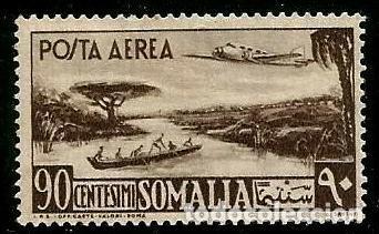 SOMALIA 1950 CHARNELA (Sellos - España - Colonias Españolas y Dependencias - África - Otros)
