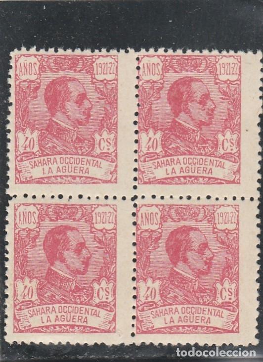 LA AGÜERA 1923 - EDIFIL NRO. 22 - BLOQUE 4 - NUEVOS (Sellos - España - Colonias Españolas y Dependencias - África - La Agüera)