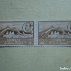 Sellos: ÁFRICA OCCIDENTAL ESPAÑOLA 1950. EDIFIL 3. PAREJA. NUEVOS SIN CHARNELA. . Lote 123866327