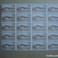 Sellos: ÁFRICA OCCIDENTAL ESPAÑOLA 1950. EDIFIL 3. PLIEGO DE 20. NUEVOS SIN CHARNELA. . Lote 123874147