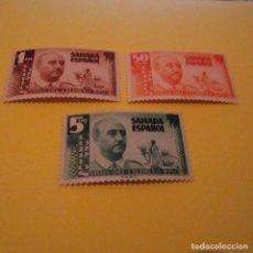 Sellos: SAHARA 1951,EDIFIL 88/90*, VISITA DEL GENERAL FRANCO, SERIE COMPLETA, NUEVOS CON FIJASELLOS. Lote 124329859