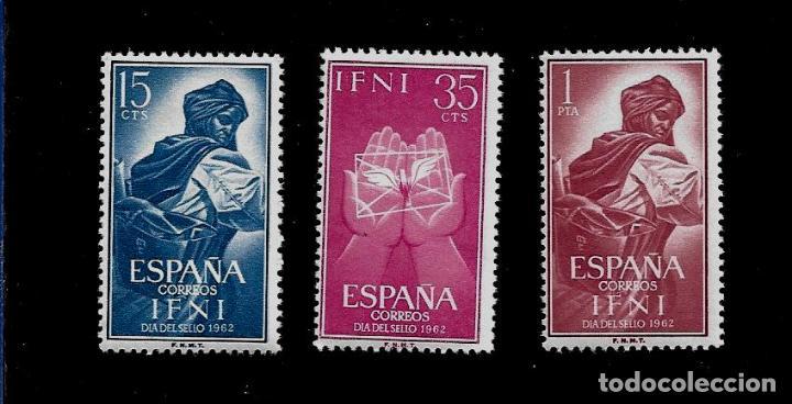 IFNI - DIA DEL SELLO - EDIFIL 190-92 - 1962 - NUEVOS SIN FIJASELLOS (Sellos - España - Colonias Españolas y Dependencias - África - Ifni)
