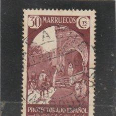 Francobolli: MARRUECOS E. 1933-35 - EDIFIL NRO. 140 - VISTAS Y PAISAJES - USADO. Lote 128798388
