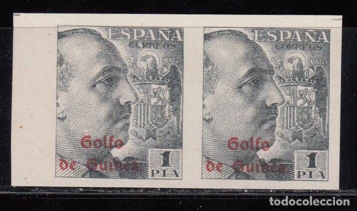 GUINEA, 1943 EDIFIL Nº 269 S / ** /, PAREJA SIN DENTAR (Sellos - España - Colonias Españolas y Dependencias - África - Guinea)