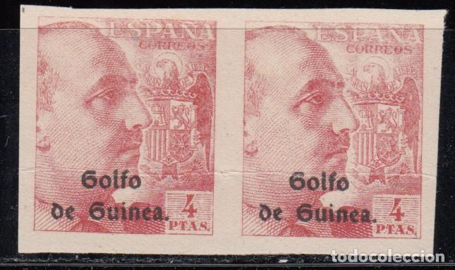 GUINEA, 1943 EDIFIL Nº 270 S / ** /, PAREJA SIN DENTAR. (Sellos - España - Colonias Españolas y Dependencias - África - Guinea)