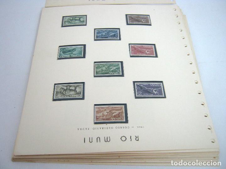 Sellos: Gran lote - muchas series completas Sahara y Rio Muni años 50/60 - nuevos en hojas - ver - Foto 3 - 130002239