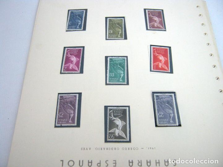 Sellos: Gran lote - muchas series completas Sahara y Rio Muni años 50/60 - nuevos en hojas - ver - Foto 10 - 130002239