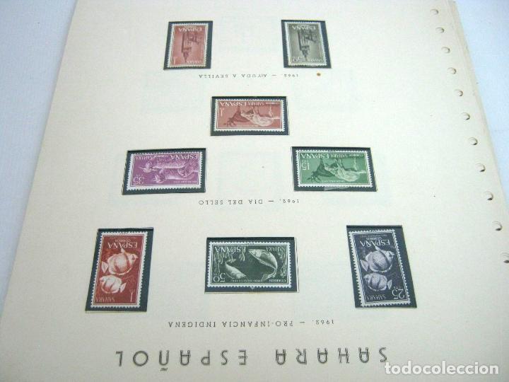 Sellos: Gran lote - muchas series completas Sahara y Rio Muni años 50/60 - nuevos en hojas - ver - Foto 11 - 130002239