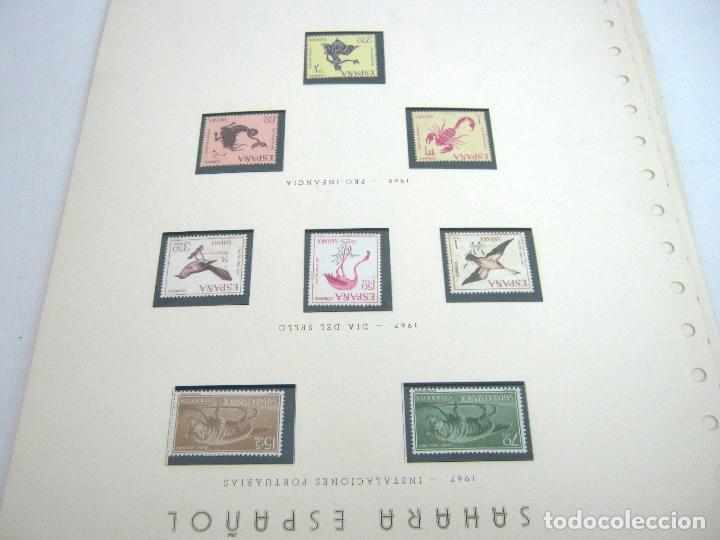 Sellos: Gran lote - muchas series completas Sahara y Rio Muni años 50/60 - nuevos en hojas - ver - Foto 12 - 130002239