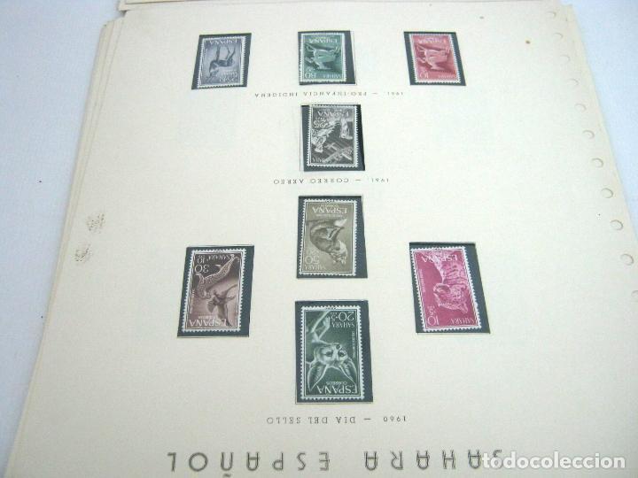 Sellos: Gran lote - muchas series completas Sahara y Rio Muni años 50/60 - nuevos en hojas - ver - Foto 13 - 130002239