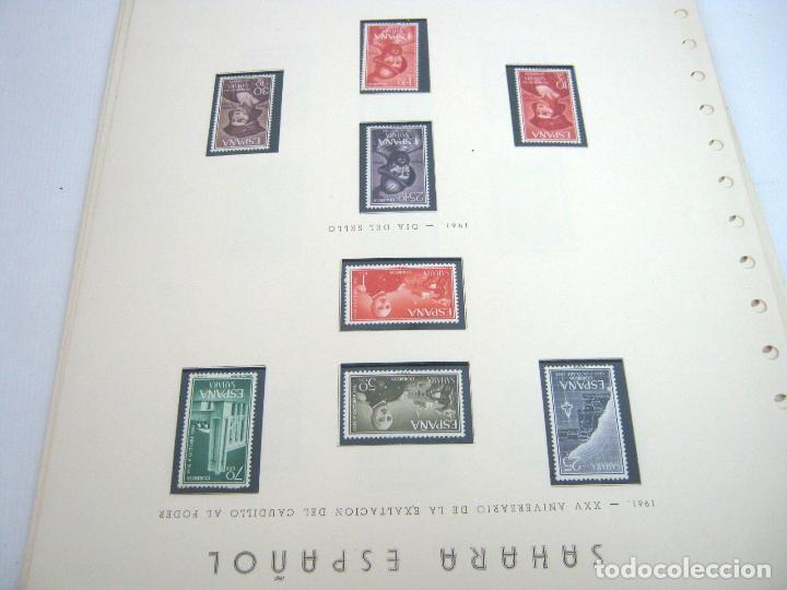 Sellos: Gran lote - muchas series completas Sahara y Rio Muni años 50/60 - nuevos en hojas - ver - Foto 15 - 130002239