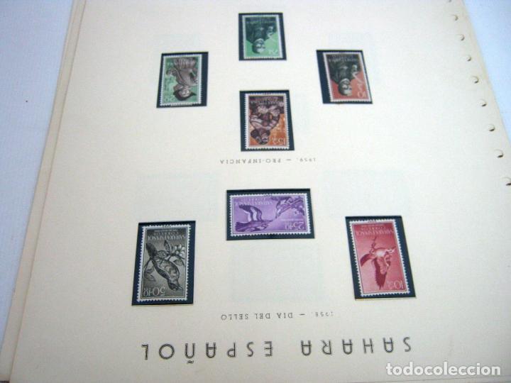 Sellos: Gran lote - muchas series completas Sahara y Rio Muni años 50/60 - nuevos en hojas - ver - Foto 21 - 130002239