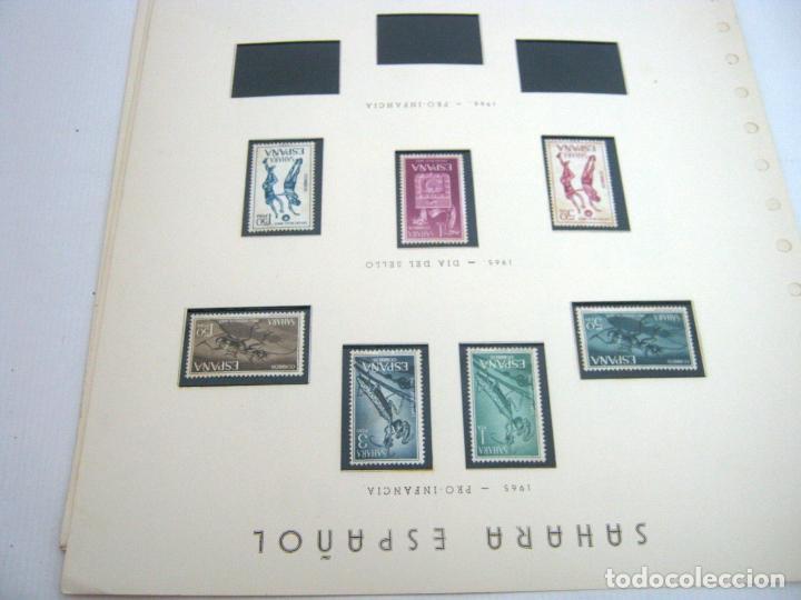 Sellos: Gran lote - muchas series completas Sahara y Rio Muni años 50/60 - nuevos en hojas - ver - Foto 24 - 130002239