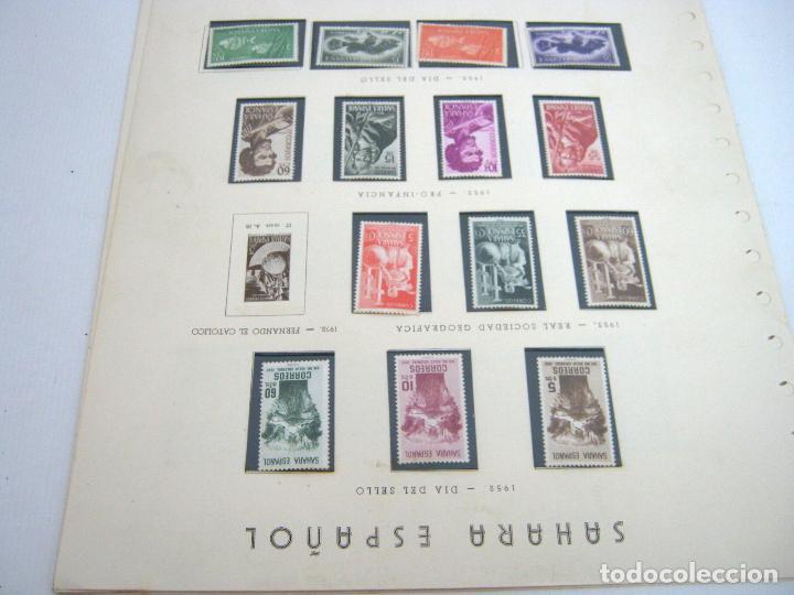 Sellos: Gran lote - muchas series completas Sahara y Rio Muni años 50/60 - nuevos en hojas - ver - Foto 25 - 130002239