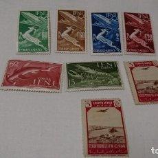 Sellos: LOTE DE SELLOS IFNI, 1954,NUEVOS. Lote 130876340