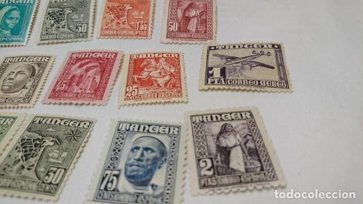 Sellos: LOTE SELLOS TANGER, NUEVOS - Foto 2 - 130876496