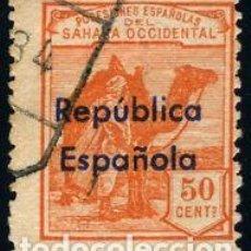 Sellos: SELLO NUEVO SAHARA ESPAÑOL, EDIFIL 43 ( HABILITADO HORIZONTAL). Lote 133805522