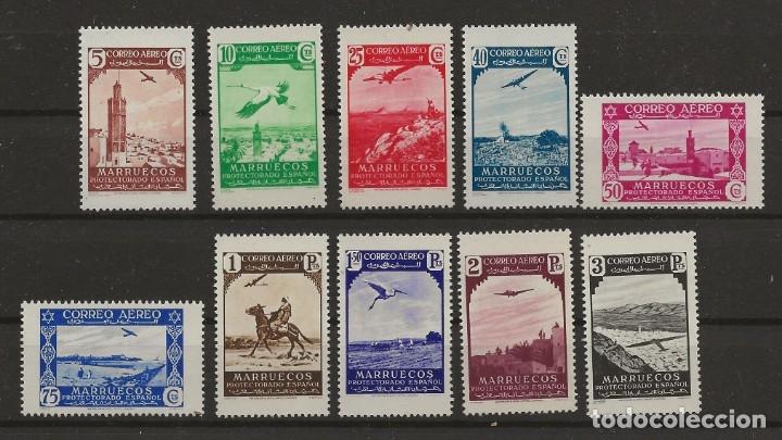 R43.G15/ MARRUECOS ESPAÑOL 186/95 **, MUY BONITA SERIE (Sellos - España - Colonias Españolas y Dependencias - África - Marruecos)