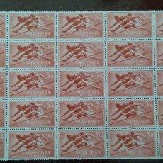 Sellos: SAHARA ESPAÑOL PRO-INFANCIA 1954 5+5 CTS. NUEVOS .- 25 SELLOS . Lote 134501394